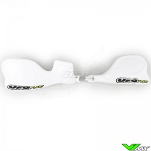UFO Handguards White - Honda CR125 CR250 CR500