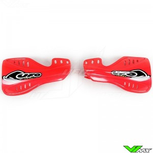 UFO Handguards Red - Honda CR125 CR250