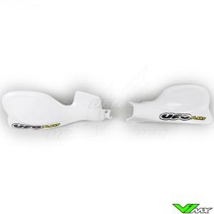 UFO Handguards White - Honda CRF450R