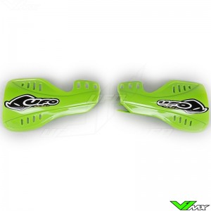 UFO Handguards Green - Kawasaki KX125 KX250