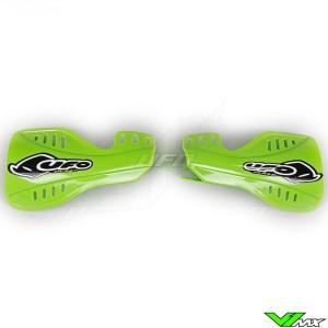 UFO Handguards Green - Kawasaki KXF250
