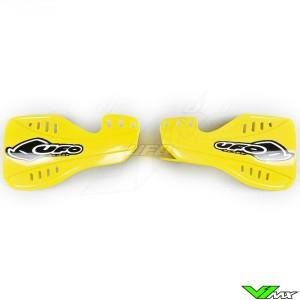 UFO Handguards Yellow - Suzuki RM125 RM250