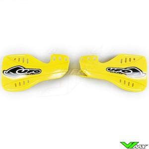 UFO Handguards Yellow - Suzuki RMZ250