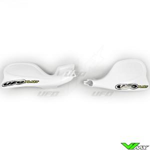 UFO Handguards White - Yamaha YZ125 YZ250 YZF400 WR400F
