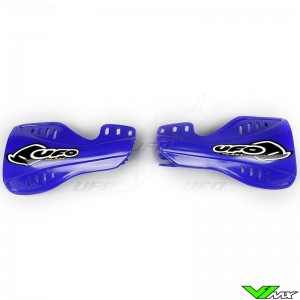 UFO Handguards Blue - Yamaha YZF250 YZF450