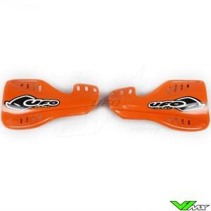 UFO Handguards Orange - KTM 525SX 250SX-F 450SX-F 400EXC 450EXC 525EXC 250EXC-F