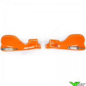 UFO Handguards Orange - KTM 125SX 200SX 250SX 380SX 520SX 525SX 125EXC 200EXC 250EXC 300EXC 380EXC 400EXC 520EXC 525EXC