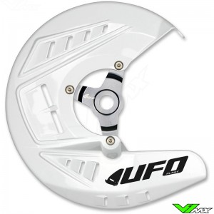 UFO Brake Disc Protector White - Husqvarna FC250 FC350 FC450 FE250 FE350 FE450 FE501 TC125 TC250 TE125 TE250 TE300