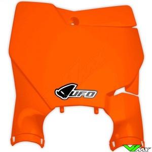 UFO Stadium Front Number Plate Fluo Orange - KTM 125SX 150SX 250SX 250SX-F 350SX-F 450SX-F