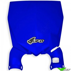 UFO Stadium Front Number Plate Blue - Yamaha YZ125 YZ250 YZF250 YZF450