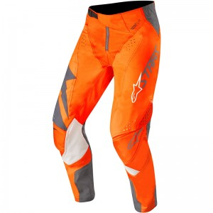 Alpinestars Techstar Factory 2019 Crossbroek - Anthracite / Fluo Oranje