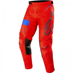 Alpinestars Racer Tech Atomic 2019 Crossbroek - Rood / Donker Navy / Blauw