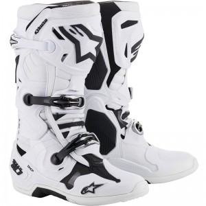 Alpinestars Tech 10 2019 Crosslaarzen - Wit