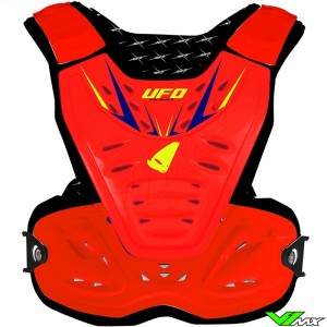 UFO 2018 Reactor 2 Body Armour Fluo Red