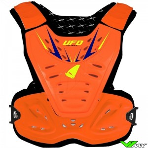 UFO Reactor 2 Kids Motocross Body Armour Orange