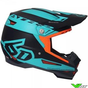 6D ATR-2 Motocross Helmet Sector Teal