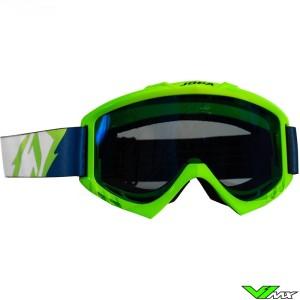 Jopa Poison Motocross Goggle Neon Green