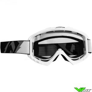 Jopa Poison Motocross Goggle White