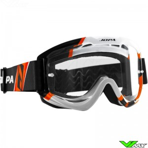 Jopa Venom 2 Motocross Goggle Graphic Orange