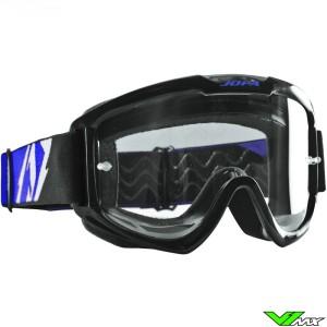 Jopa Venom 2 Crossbril Zwart Blauw
