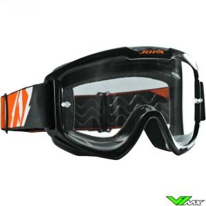 Jopa Venom 2 Crossbril Zwart Oranje