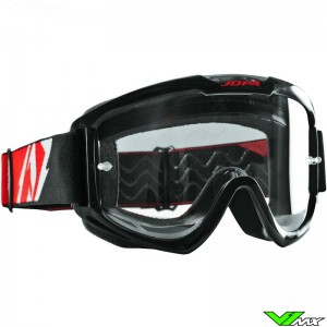 Jopa Venom 2 Motocross Goggle Black Red