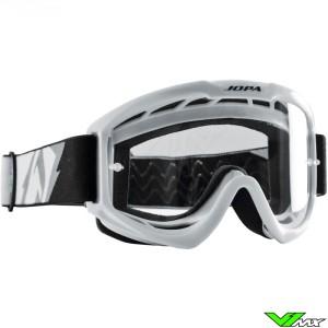 Jopa Venom 2 Motocross Goggle White