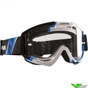 Jopa Venom 2 Motocross Goggle Graphic Blue