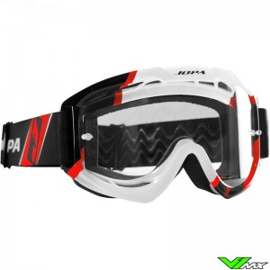 Jopa Venom 2 Motocross Goggle Graphic Red