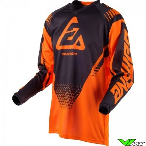 Answer Syncron Drift 2019 Cross Shirt - Fluo Oranje / Charcoal