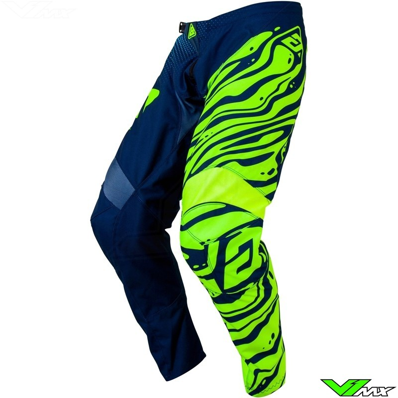 Answer Syncron Flow MX Pants - Fluo Yellow / Midnight / Astana (32)