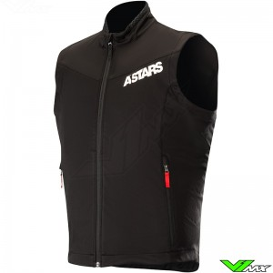 Alpinestars Session Race 2019 Enduro Vest - Zwart / Rood