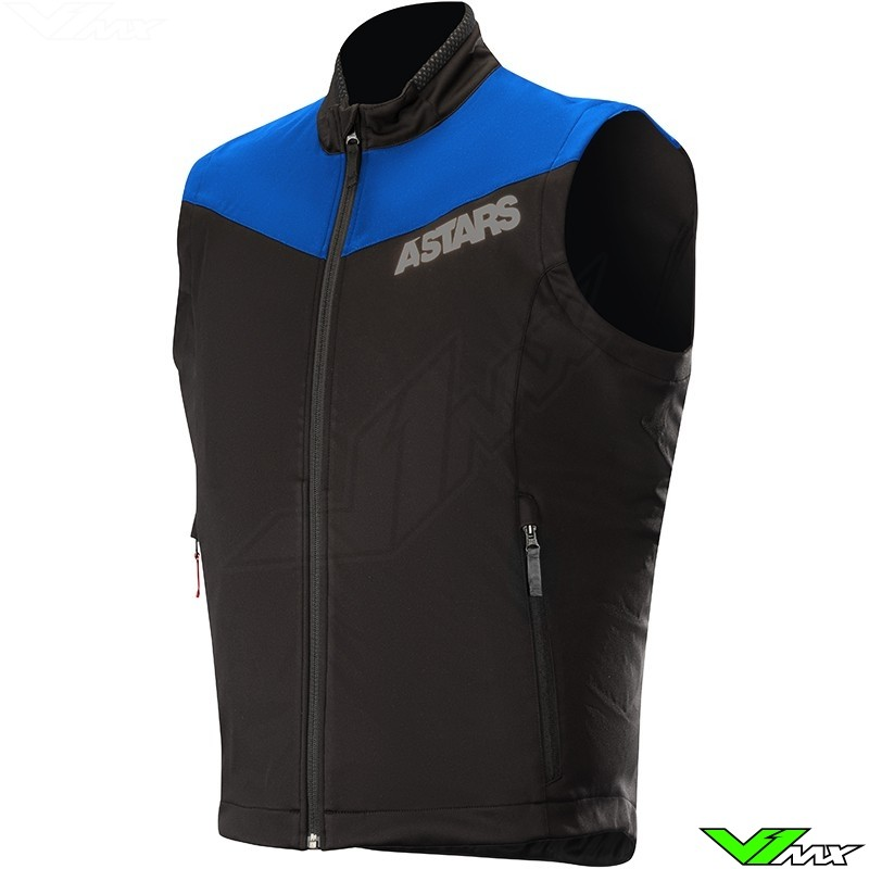 Alpinestars Session Race 2019 Enduro Vest - Blauw / Zwart