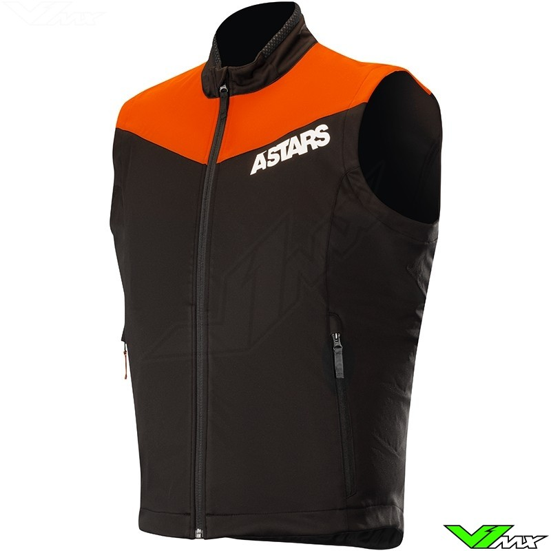 Alpinestars Session Race 2019 Enduro Vest - Fluo Oranje / Zwart