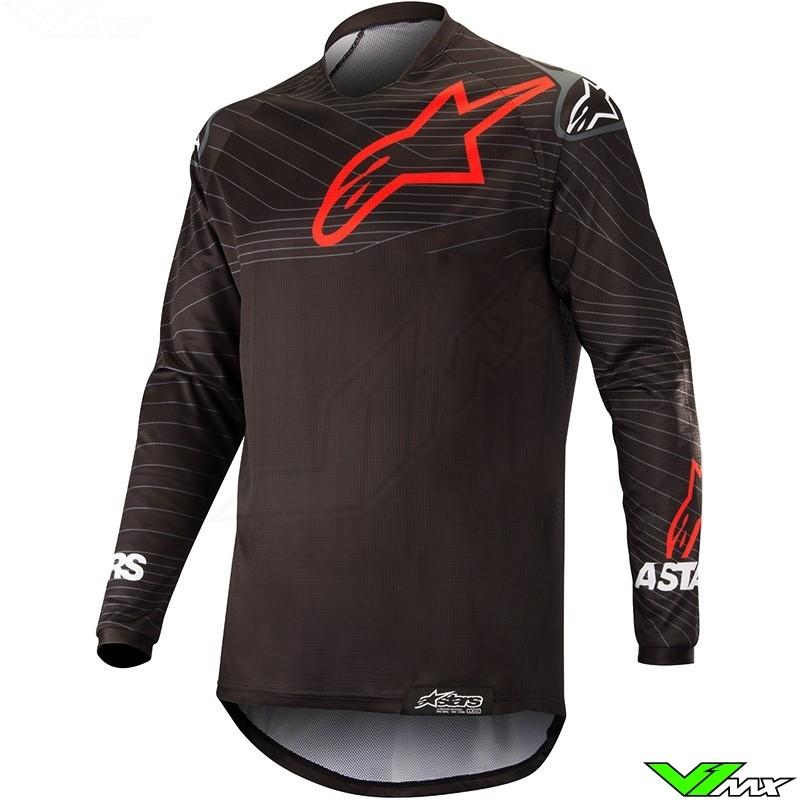 Alpinestars Venture R 2019 Enduro Shirt - Zwart / Rood