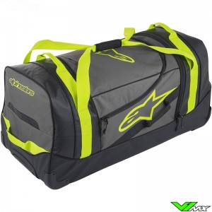 Alpinestars Komodo Travel 2019 Bag - Black / Anthracite / Fluo Yellow