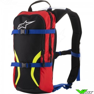 Alpinestars Iguana 2019 Hydration Back Pack - Black / Blue / Red / Fluo Yellow