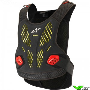 Alpinestars Sequence 2019 Body Protector - Anthracite / Rood