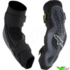 Alpinestars Sequence 2019 Elbow Guards - Anthracite / Fluo Yellow