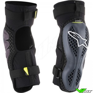 Alpinestars Sequence 2019 Knee Guards - Anthracite / Fluo Yellow