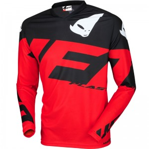 UFO Mizar 2019 Kinder Cross Shirt - Zwart / Rood
