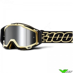 100% Racecraft Plus Jiva Motocross Goggle - Injected Lens