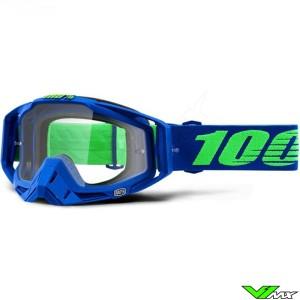 100% Racecraft Dreamflow Crossbril - Clear Lens