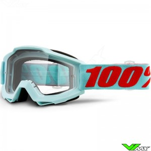 100% Accuri Maldives Motocross Goggle - Clear Lens