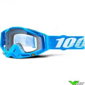 100% Racecraft Monoblock Motocross Goggle - Clear Lens