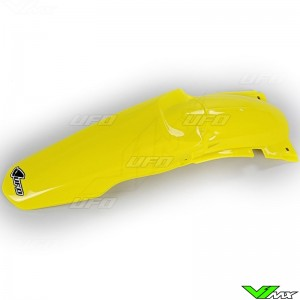 UFO Rear Fender Yellow - Suzuki RM125 RM250