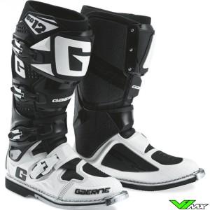 Gaerne SG12 Motocross Boots Black / White