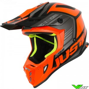 Just1 J38 Motocross Helmet - Blade / Orange