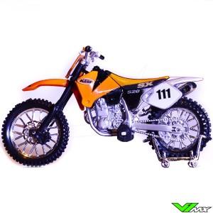 Schaalmodel 1:18 - KTM Crossmotor