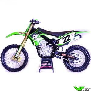 Schaalmodel 1:12 - Kawasaki Chad Reed 22